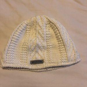 Columbia knit beanie